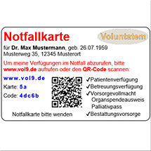 Bestattungs-Messe - Voluntatem